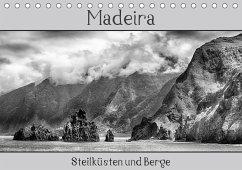 Madeira - Steilküsten und Berge (Tischkalender 2018 DIN A5 quer) Dieser erfolgreiche Kalender wurde dieses Jahr mit gleichen Bildern und aktualisiertem Kalendarium wiederveröffentlicht.
