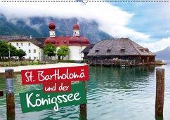 St. Bartholomä und der Königssee (Wandkalender 2018 DIN A2 quer) Dieser erfolgreiche Kalender wurde dieses Jahr mit gleichen Bildern und aktualisiertem Kalendarium wiederveröffentlicht.