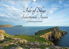 Isle of Skye Schottlands Inseln Geburtstagskalender (Wandkalender 2018 DIN A3 quer)