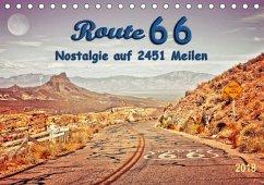 Nostalgie auf 2451 Meilen - Route 66 (Tischkalender 2018 DIN A5 quer) Dieser erfolgreiche Kalender wurde dieses Jahr mit gleichen Bildern und aktualisiertem Kalendarium wiederveröffentlicht.