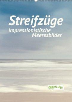 Streifzüge - impressionistische Meeresbilder (Wandkalender 2018 DIN A2 hoch) Dieser erfolgreiche Kalender wurde dieses Jahr mit gleichen Bildern und aktualisiertem Kalendarium wiederveröffentlicht.