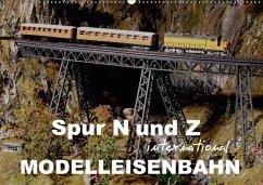 Spur N und Z international, Modelleisenbahn (Wandkalender 2018 DIN A2 quer) Dieser erfolgreiche Kalender wurde dieses Jahr mit gleichen Bildern und aktualisiertem Kalendarium wiederveröffentlicht.