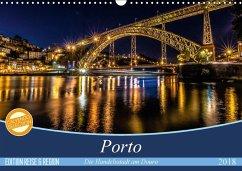Porto - Die Handelsstadt am Douro (Wandkalender 2018 DIN A3 quer) Dieser erfolgreiche Kalender wurde dieses Jahr mit gleichen Bildern und aktualisiertem Kalendarium wiederveröffentlicht.