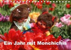 Ein Jahr mit Monchichis (Tischkalender 2018 DIN A5 quer)