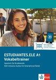 Estudiantes.ELE A1. Vokabeltrainer. Heft inklusive Audios für Smartphone/Tablet
