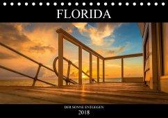 Florida. Der Sonne entgegen. (Tischkalender 2018 DIN A5 quer) Dieser erfolgreiche Kalender wurde dieses Jahr mit gleichen Bildern und aktualisiertem Kalendarium wiederveröffentlicht.