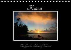 Kauai - The Garden Island (Tischkalender 2018 DIN A5 quer) Dieser erfolgreiche Kalender wurde dieses Jahr mit gleichen Bildern und aktualisiertem Kalendarium wiederveröffentlicht.