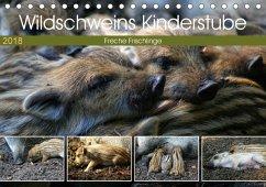Wildschweins Kinderstube - Freche Frischlinge (Tischkalender 2018 DIN A5 quer) Dieser erfolgreiche Kalender wurde dieses Jahr mit gleichen Bildern und aktualisiertem Kalendarium wiederveröffentlicht.