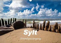 Sylt - Strandspaziergang (Wandkalender 2018 DIN A3 quer) Dieser erfolgreiche Kalender wurde dieses Jahr mit gleichen Bildern und aktualisiertem Kalendarium wiederveröffentlicht. - Dreegmeyer, H.