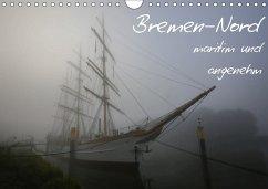 Bremen-Nord - maritim und angenehm (Wandkalender 2018 DIN A4 quer) Dieser erfolgreiche Kalender wurde dieses Jahr mit gleichen Bildern und aktualisiertem Kalendarium wiederveröffentlicht.