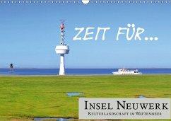 Zeit für... Insel Neuwerk - Kulturlandschaft im Wattenmeer (Wandkalender 2018 DIN A3 quer) Dieser erfolgreiche Kalender wurde dieses Jahr mit gleichen Bildern und aktualisiertem Kalendarium wiederveröffentlicht.