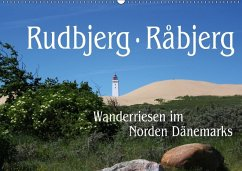 Rudbjerg und Råbjerg, Wanderriesen im Norden Dänemarks (Wandkalender 2018 DIN A2 quer) Dieser erfolgreiche Kalender wurde dieses Jahr mit gleichen Bildern und aktualisiertem Kalendarium wiederveröffentlicht.
