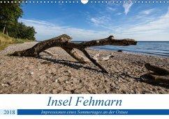 Insel Fehmarn - Impressionen eines Sommertages an der Ostsee (Wandkalender 2018 DIN A3 quer) Dieser erfolgreiche Kalender wurde dieses Jahr mit gleichen Bildern und aktualisiertem Kalendarium wiederveröffentlicht.