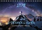 Sternensucher - Landschaft unter Sternen (Tischkalender 2018 DIN A5 quer)