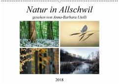 Natur in Allschwil (Wandkalender 2018 DIN A2 quer) Dieser erfolgreiche Kalender wurde dieses Jahr mit gleichen Bildern und aktualisiertem Kalendarium wiederveröffentlicht.