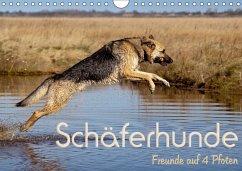 Schäferhunde - Freunde auf 4 Pfoten (Wandkalender 2018 DIN A4 quer) Dieser erfolgreiche Kalender wurde dieses Jahr mit gleichen Bildern und aktualisiertem Kalendarium wiederveröffentlicht.