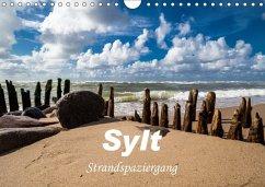 Sylt - Strandspaziergang (Wandkalender 2018 DIN A4 quer) Dieser erfolgreiche Kalender wurde dieses Jahr mit gleichen Bildern und aktualisiertem Kalendarium wiederveröffentlicht. - Dreegmeyer, H.