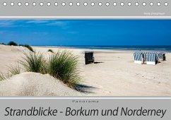 Strandblicke Borkum und Norderney (Tischkalender 2018 DIN A5 quer) Dieser erfolgreiche Kalender wurde dieses Jahr mit gleichen Bildern und aktualisiertem Kalendarium wiederveröffentlicht.