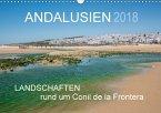 Andalusien - Landschaften rund um Conil de la Frontera (Wandkalender 2018 DIN A3 quer) Dieser erfolgreiche Kalender wurde dieses Jahr mit gleichen Bildern und aktualisiertem Kalendarium wiederveröffentlicht.