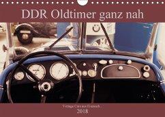 DDR Oldtimer ganz nah (Wandkalender 2018 DIN A4 quer) Dieser erfolgreiche Kalender wurde dieses Jahr mit gleichen Bildern und aktualisiertem Kalendarium wiederveröffentlicht.