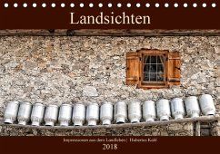 Landsichten - Impressionen aus dem Landleben (Tischkalender 2018 DIN A5 quer) Dieser erfolgreiche Kalender wurde dieses Jahr mit gleichen Bildern und aktualisiertem Kalendarium wiederveröffentlicht.