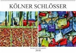 Kölner Schlösser - surreal ins Licht gestellt (Wandkalender 2018 DIN A2 quer) Dieser erfolgreiche Kalender wurde dieses Jahr mit gleichen Bildern und aktualisiertem Kalendarium wiederveröffentlicht.