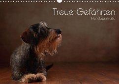 Treue Gefährten - Hundeportraits (Wandkalender 2018 DIN A3 quer) Dieser erfolgreiche Kalender wurde dieses Jahr mit gleichen Bildern und aktualisiertem Kalendarium wiederveröffentlicht.