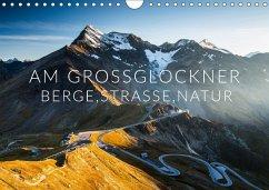 Am Großglockner. Berge, Straße, Natur (Wandkalender 2018 DIN A4 quer) Dieser erfolgreiche Kalender wurde dieses Jahr mit gleichen Bildern und aktualisiertem Kalendarium wiederveröffentlicht.