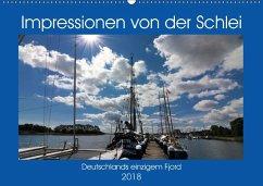Impressionen von der Schlei - Deutschlands einzigem Fjord (Wandkalender 2018 DIN A2 quer) Dieser erfolgreiche Kalender wurde dieses Jahr mit gleichen Bildern und aktualisiertem Kalendarium wiederveröffentlicht.