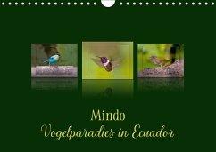 Mindo, Vogelparadies in Ecuador (Wandkalender 2018 DIN A4 quer) Dieser erfolgreiche Kalender wurde dieses Jahr mit gleichen Bildern und aktualisiertem Kalendarium wiederveröffentlicht.