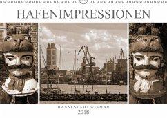 Hafen - Impressionen Hansestadt Wismar (Wandkalender 2018 DIN A3 quer) Dieser erfolgreiche Kalender wurde dieses Jahr mit gleichen Bildern und aktualisiertem Kalendarium wiederveröffentlicht.