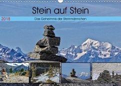 Stein auf Stein. Das Geheimnis der Steinmännchen (Wandkalender 2018 DIN A3 quer) Dieser erfolgreiche Kalender wurde dieses Jahr mit gleichen Bildern und aktualisiertem Kalendarium wiederveröffentlicht.