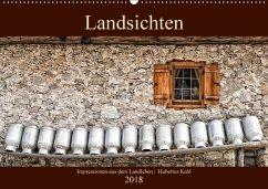 Landsichten - Impressionen aus dem Landleben (Wandkalender 2018 DIN A2 quer) Dieser erfolgreiche Kalender wurde dieses Jahr mit gleichen Bildern und aktualisiertem Kalendarium wiederveröffentlicht.