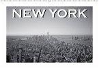 New York in schwarz weiss (Wandkalender 2018 DIN A2 quer)