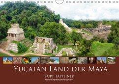 Yucatán Land der Maya (Wandkalender 2018 DIN A4 quer) Dieser erfolgreiche Kalender wurde dieses Jahr mit gleichen Bildern und aktualisiertem Kalendarium wiederveröffentlicht.
