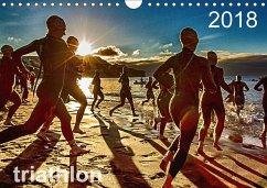 TRIATHLON 2018 (Wandkalender 2018 DIN A4 quer) ...