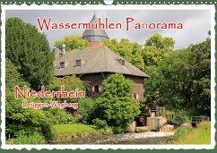 Wassermühlen Panorama Niederrhein Brüggen-Wegberg (Wandkalender 2018 DIN A3 quer) Dieser erfolgreiche Kalender wurde dieses Jahr mit gleichen Bildern und aktualisiertem Kalendarium wiederveröffentlicht.