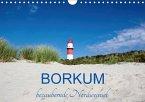 Borkum, bezaubernde Nordseeinsel (Wandkalender 2018 DIN A4 quer) Dieser erfolgreiche Kalender wurde dieses Jahr mit gleichen Bildern und aktualisiertem Kalendarium wiederveröffentlicht.