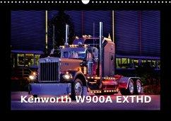 Kenworth W900A EXTHD (Wandkalender 2018 DIN A3 quer)