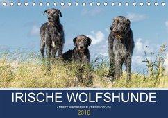 Irische Wolfshunde (Tischkalender 2018 DIN A5 quer) Dieser erfolgreiche Kalender wurde dieses Jahr mit gleichen Bildern und aktualisiertem Kalendarium wiederveröffentlicht.