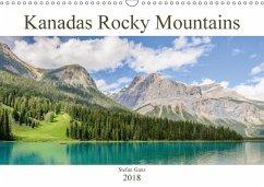 Kanadas Rocky Mountains (Wandkalender 2018 DIN A3 quer) Dieser erfolgreiche Kalender wurde dieses Jahr mit gleichen Bildern und aktualisiertem Kalendarium wiederveröffentlicht.