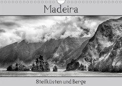Madeira - Steilküsten und Berge (Wandkalender 2018 DIN A4 quer) Dieser erfolgreiche Kalender wurde dieses Jahr mit gleichen Bildern und aktualisiertem Kalendarium wiederveröffentlicht.