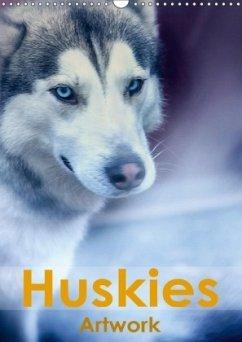 Huskies - Artwork (Wandkalender 2018 DIN A3 hoch) Dieser erfolgreiche Kalender wurde dieses Jahr mit gleichen Bildern und aktualisiertem Kalendarium wiederveröffentlicht.