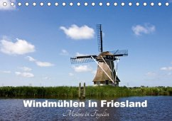 Windmühlen in Friesland - Molens in Fryslan (Tischkalender 2018 DIN A5 quer)