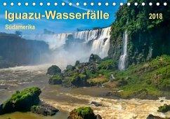 Iguazu Wasserfälle - Südamerika (Tischkalender 2018 DIN A5 quer) Dieser erfolgreiche Kalender wurde dieses Jahr mit gleichen Bildern und aktualisiertem Kalendarium wiederveröffentlicht.