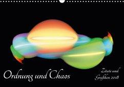 Ordnung und Chaos - Zitate und Grafiken 2018 (Wandkalender 2018 DIN A3 quer) Dieser erfolgreiche Kalender wurde dieses Jahr mit gleichen Bildern und aktualisiertem Kalendarium wiederveröffentlicht.