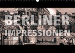 Berliner Impressionen (Wandkalender 2018 DIN A3 quer) Dieser erfolgreiche Kalender wurde dieses Jahr mit gleichen Bildern und aktualisiertem Kalendarium wiederveröffentlicht.