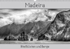 Madeira - Steilküsten und Berge (Wandkalender 2018 DIN A3 quer) Dieser erfolgreiche Kalender wurde dieses Jahr mit gleichen Bildern und aktualisiertem Kalendarium wiederveröffentlicht.