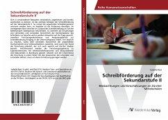 Schreibförderung auf der Sekundarstufe II