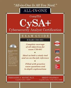 Comptia Cysa+ Cybersecurity Analyst Certification All-In-One Exam Guide (Exam Cs0-001) [With Electronic Content] - Maymi, Fernando; Chapman, Brent